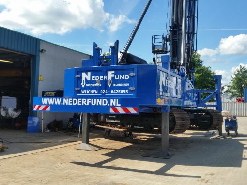 50 Tons Funderingsmachine